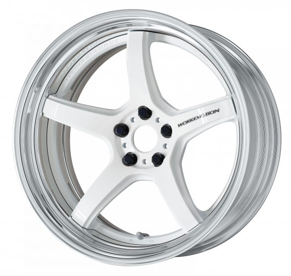 Velg Work 【STEP-RIM】WHITE(WHT ※DEEP-CONCAVE-20inch-2