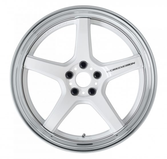 Velg Work 【STEP-RIM】WHITE(WHT ※DEEP-CONCAVE-20inch