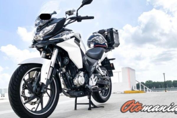 Spesifikasi dan Harga Honda CBF190X